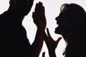 agressão casal